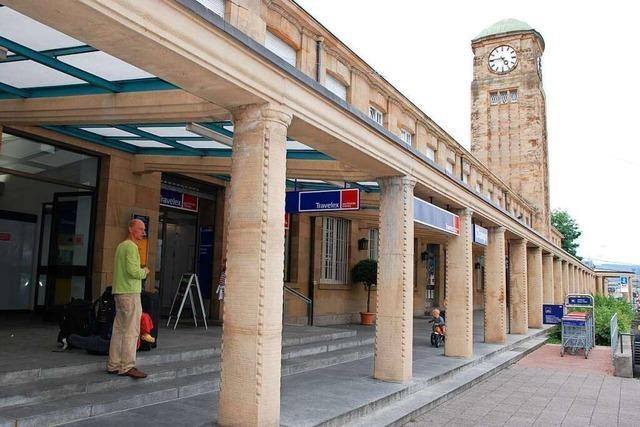 Der Badische Bahnhof in Basel ist eine Deutsch-schweizerische Mélange