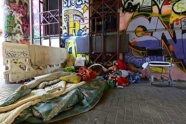 Die Corona-Krise trifft Obdachlose in Südbaden hart