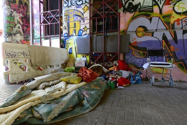 Die Corona-Krise trifft Obdachlose in Südbaden besonders hart