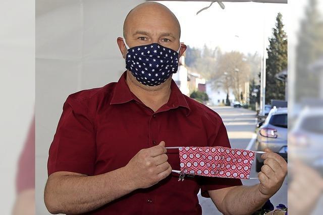 Schutzmasken für Kunden