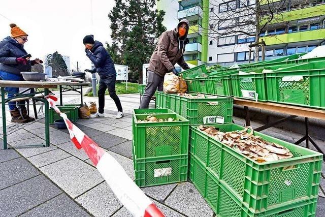 In Freiburg-Weingarten gibt es wieder einen Marktstand – mit Bio-Produkten