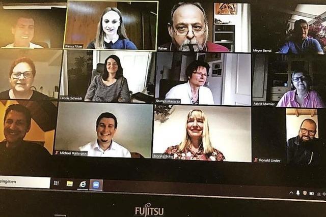 Kommunalpolitischer Austausch per Video