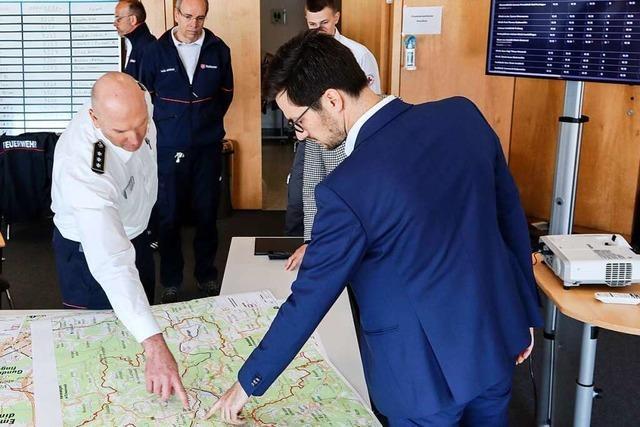 Führungsstab in Freiburg koordiniert Krisenlogistik in Stadt und Kreis