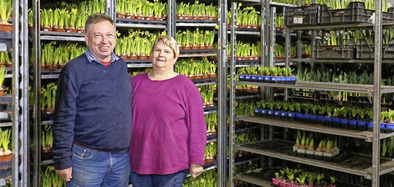 Klaus und Petra Friderich aus Sasbach ...legeheime und Kommunen in der Region.   | Foto: Ruth Seitz