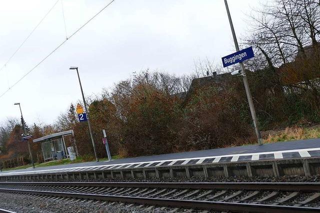 Buggingens Bürgermeister fordert, dass mehr Züge in der Gemeinde halten