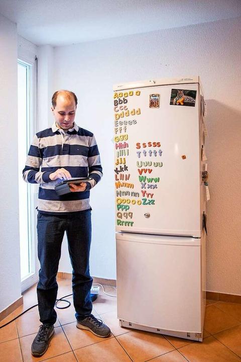Auch der Kühlschrank will richtig eingestellt sein.      Foto: Joss Andres