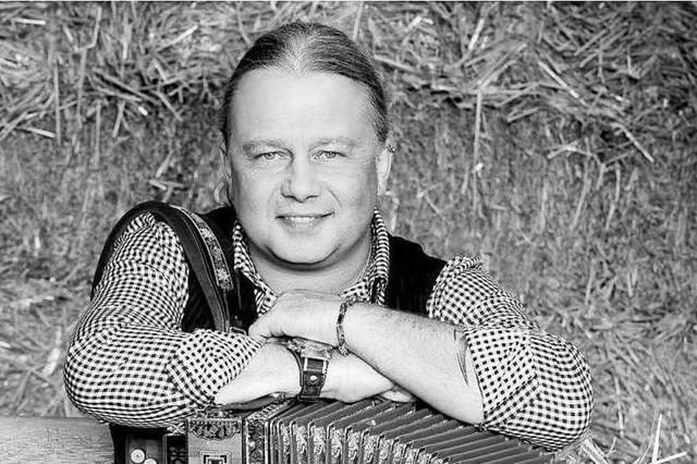 Chris Laubis, Akkordeonist der Feldberger, war ein Botschafter des Schwarzwalds