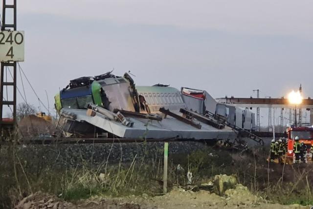 Augenzeuge über entgleisten Zug in Auggen: