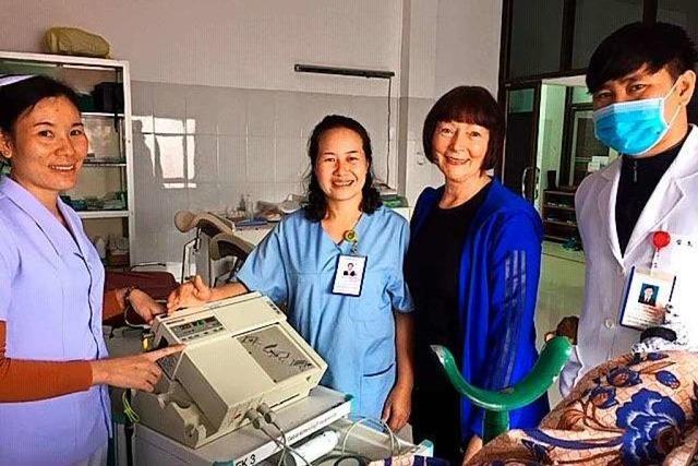 Dillendorferin in Laos: Hebamme mit Herz und großem Engagement