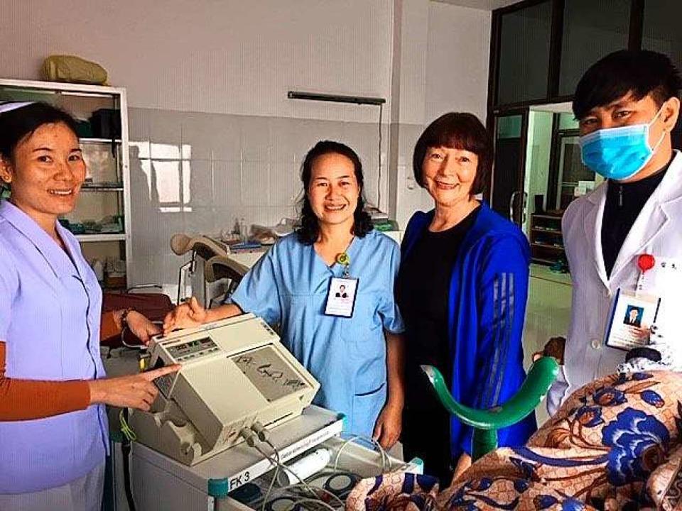 Moderne medizinische  Gerätschaften au...espräch mit Hebammen und Fachpersonal.  | Foto: Privat