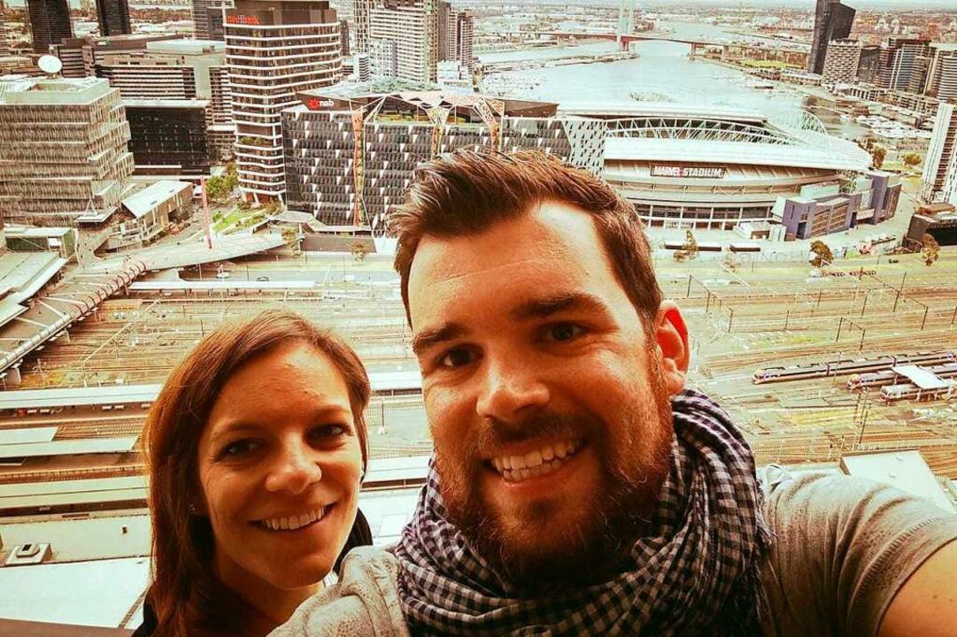 Svenia Reuther und Philipp Meier  | Foto: privat