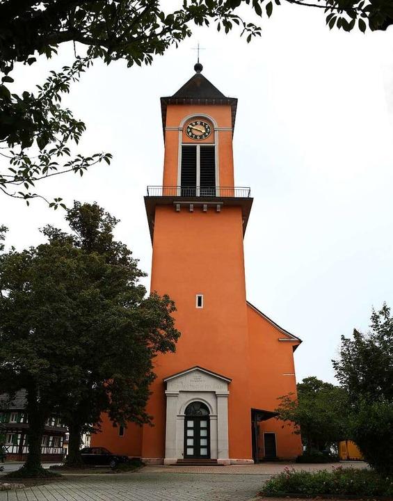 Die heutige Friedenskirche    Foto: Christoph Breithaupt