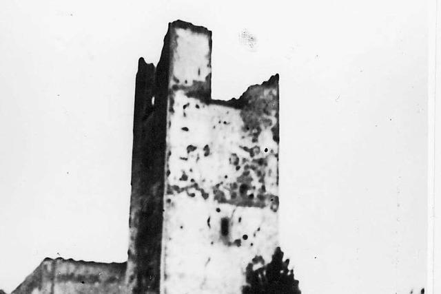 Die Zerstörung der Kirche in Neuried-Altenheim vor 75 Jahren