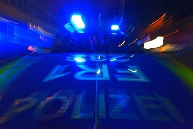 Illegales Rennen am Kaiserstuhl