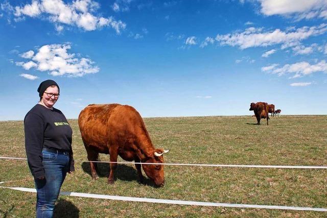 28-Jährige Landwirtin leitet die einzige Bullenprüfstation des Landes in Göschweiler