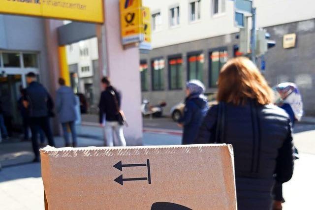 Bei der Post in Rheinfelden geht die Post ab