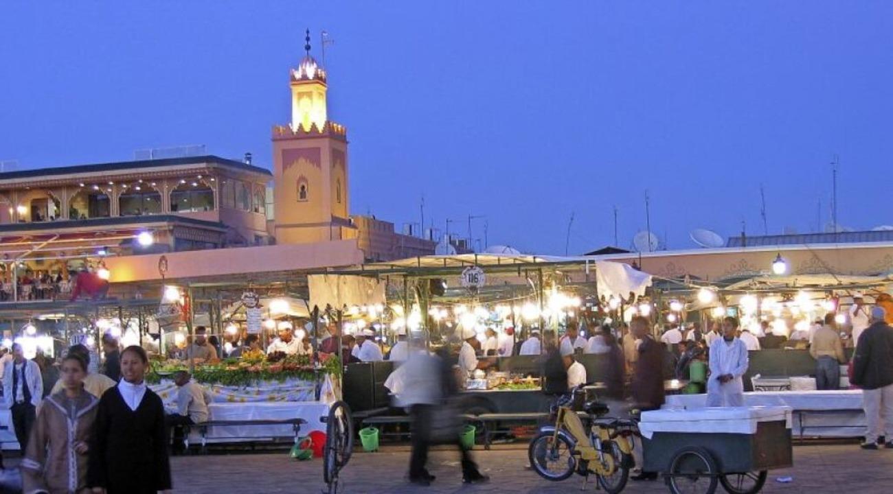Auch Marrakesch war vor der Corona-Pandemie eine quirlige Stadt.   | Foto: -