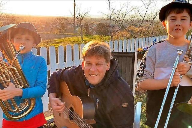 Familie Schurig macht Musik gegen den Corona-Blues