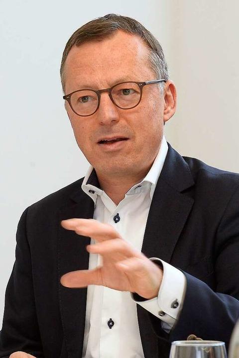 Philipp Frese, Präsident des Einzelhandelsverbands Südbaden  | Foto: Ingo Schneider