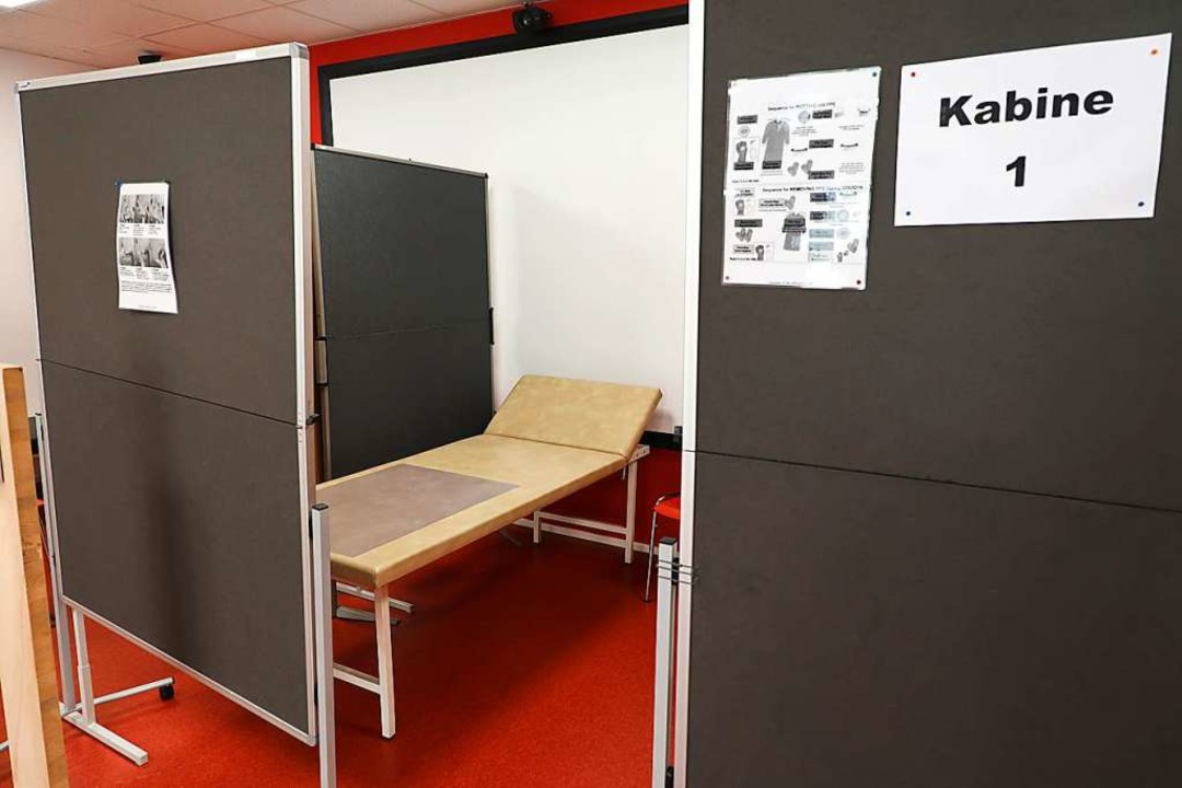 Vier Behandlungskabinen gibt's in der Ambulanz.  | Foto: Christoph Breithaupt