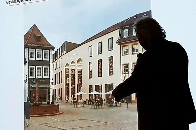 Unmüssig reicht Bauantrag für Kaufhaus-Krauss-Gebäude in Emmendingen ein