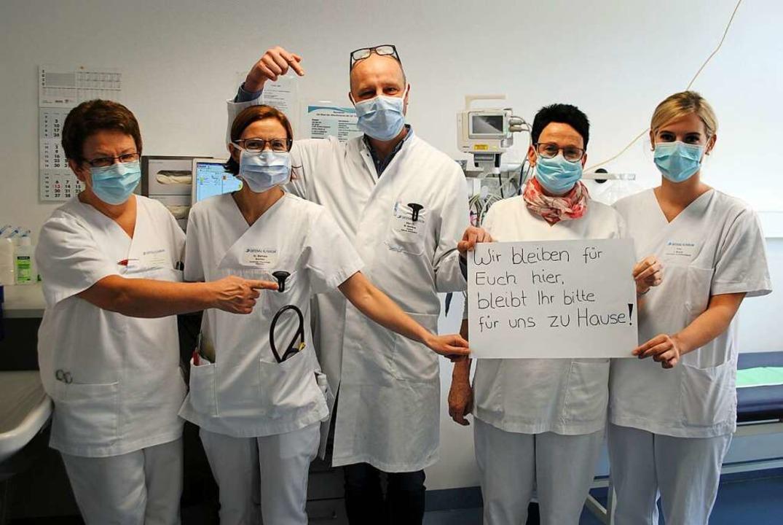 Der Satz von Klinik-Mitarbeitern hat nach wie vor Gültigkeit.   | Foto: Ortenau-Klinikum