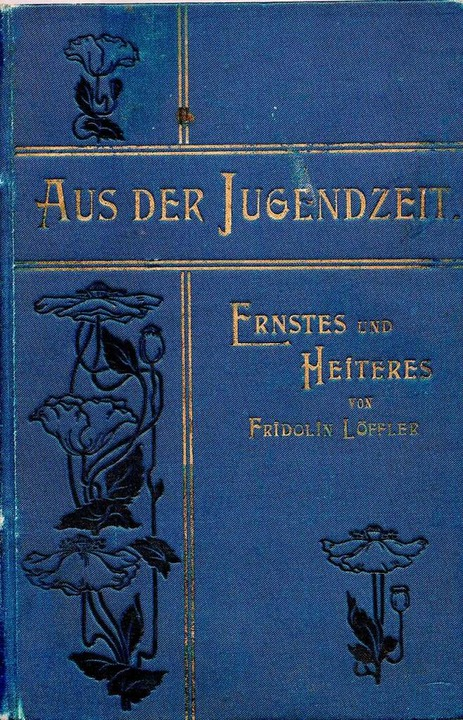 Viele Dinge, die heute bereits vergess...n Löffler in seinem Buch festgehalten.  | Foto: Repro: Ekkehard Klem
