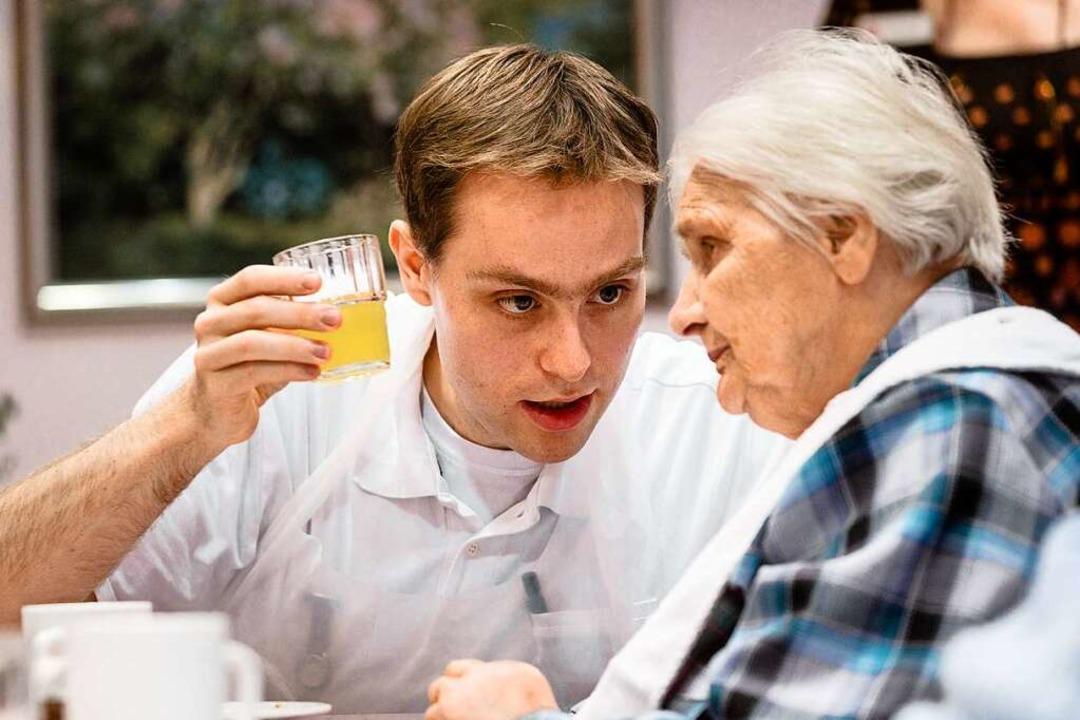 Wer eine Pflegeausbildung absolviert i...ankenhaus und Pflegeheim (Symbolfoto).  | Foto: Markus Scholz