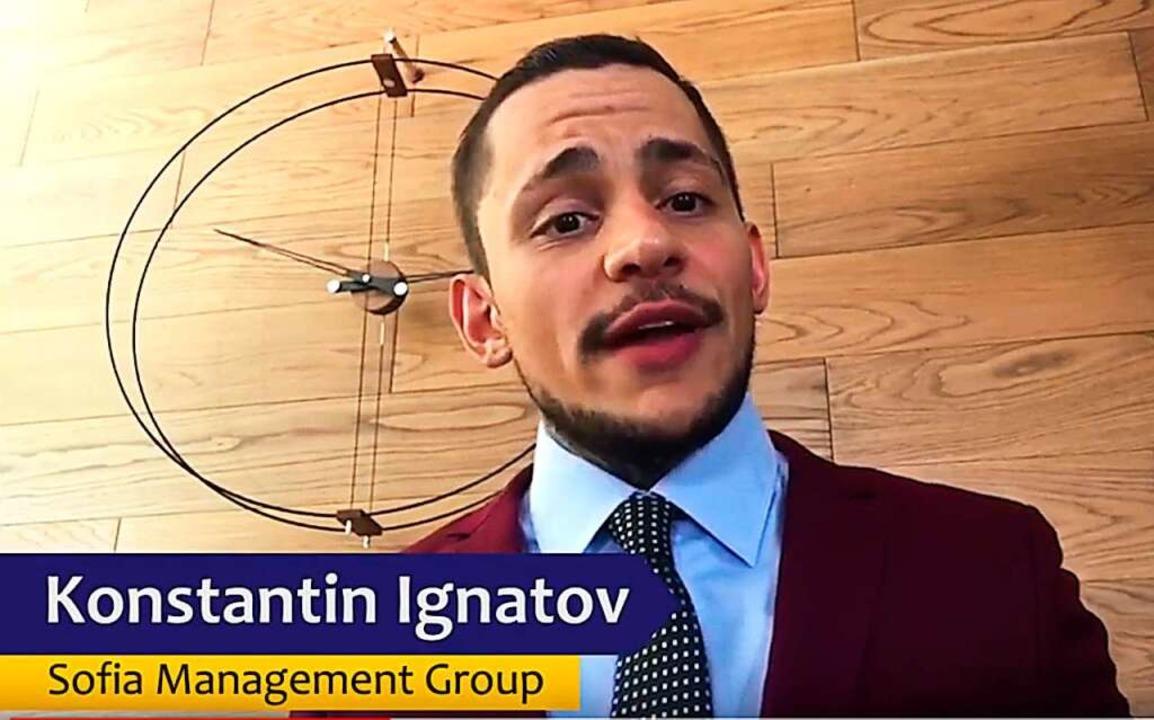 Konstantin Ignatov auf  einem Werbevideo  | Foto: OneCoin