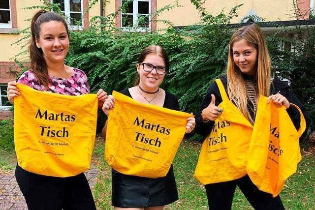 Das Projekt Martas Tisch bittet um Spenden für Bedürftige