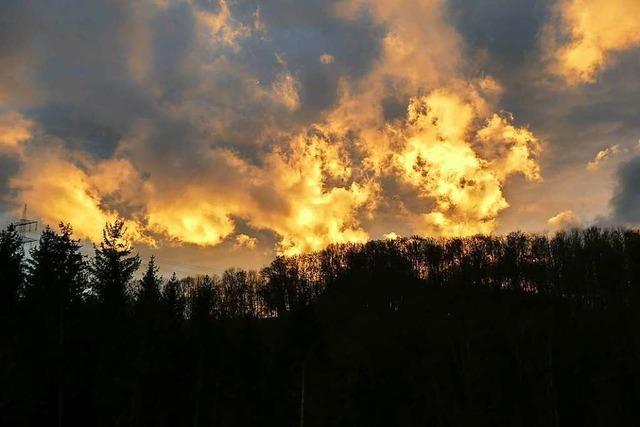 Postfastnächtliche Wolkenparade