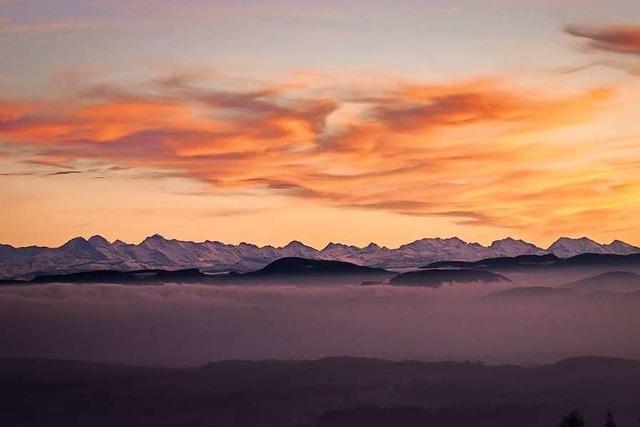 Grandioser Alpenblick von Schweigmatt