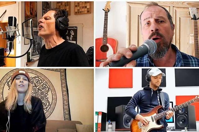 Wie 70 Musiker weltweit einen Lahrer Song einspielen