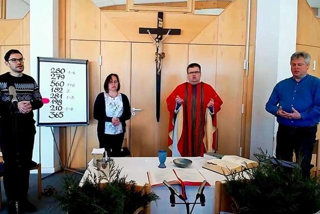 So war der erste Gottesdienst-Livestream in Ettenheim