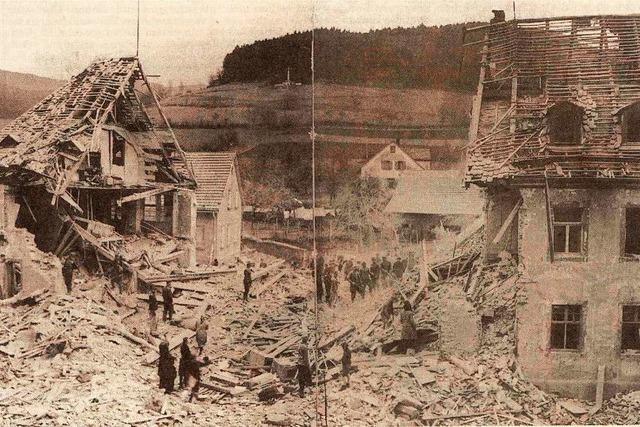 Im Frühjahr 1945 spürte man in Elztal die Folgen des Nazi-Wahns