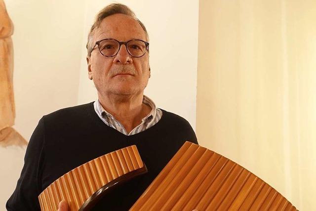 Die Musik ist für Heinz Georg Häßle eine besondere Kraftquelle