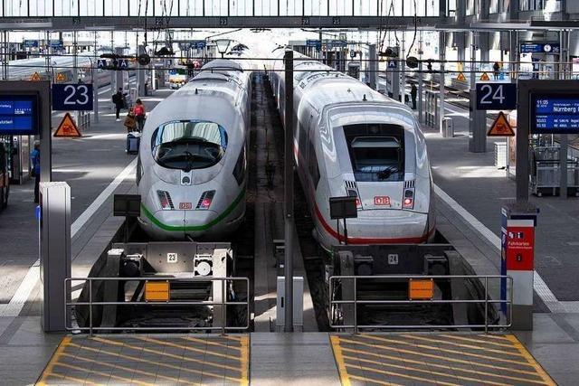 Mit weniger Fahrgästen ist die Deutsche Bahn pünktlicher