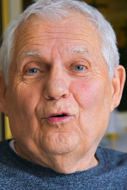 Es war das einzige Mal, dass  Dieter R...inger Torhüterlegende im Verein aktiv.  | Foto: Benedikt Sommer