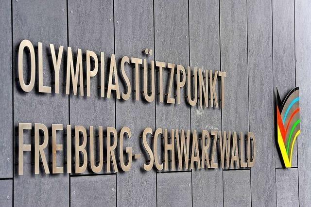 Seltsame Stille statt Gewusel im Freiburger Olympiastützpunkt