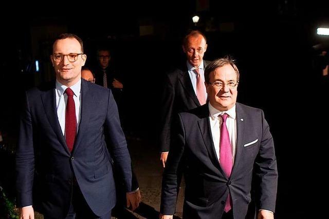 Die CDU ist im Aufwind – und mit ihr Armin Laschet