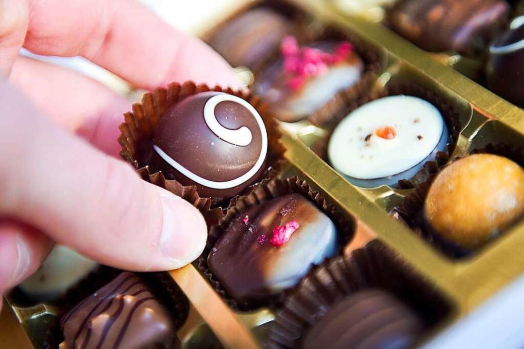 Schokolade als Dank für Verkäuferinnen – das begeistert die BZ-Leserin.    Foto: Daniel Naupold