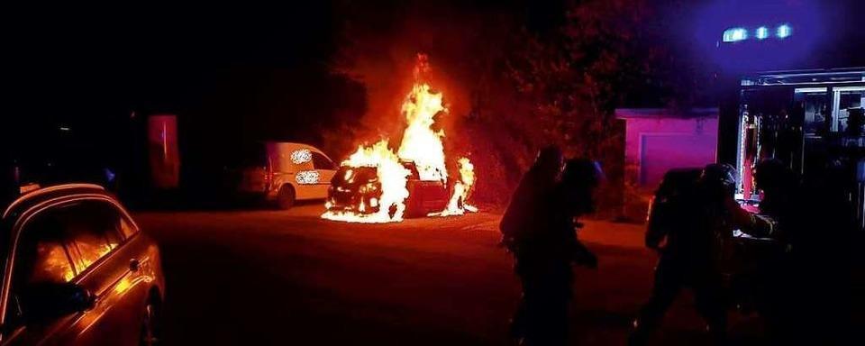 Fahrzeugbrände in Lahr und Friesenheim: Kein Zusammenhang zu Brandserie