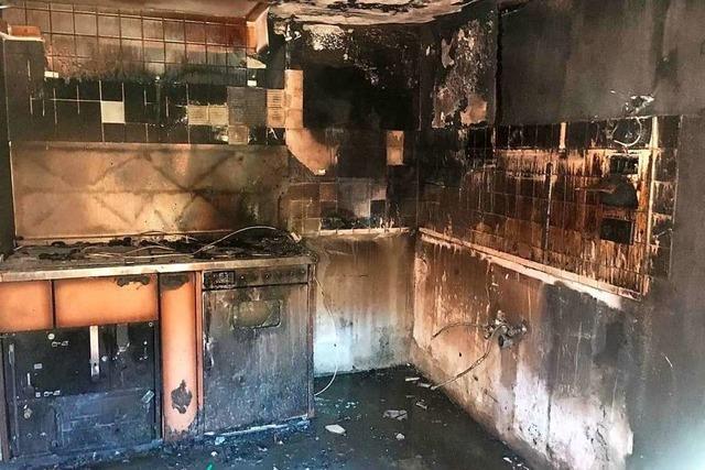 Beim Brand eines Bauernhauses im Kleinen Wiesental entsteht hoher Sachschaden