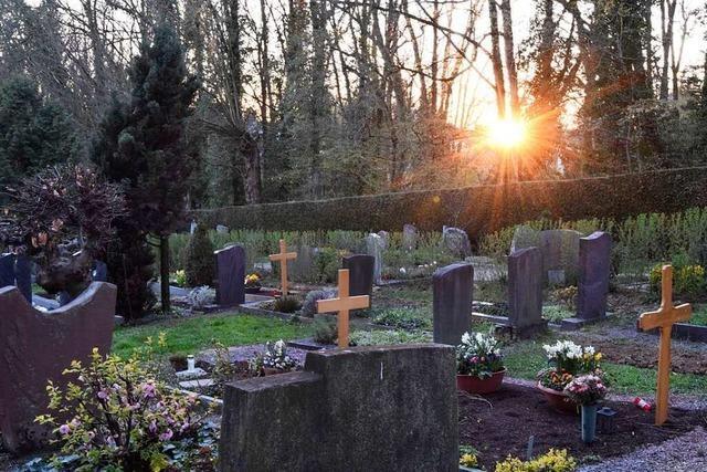 Beerdigungen sind in Zeiten von Corona besonders bedrückend