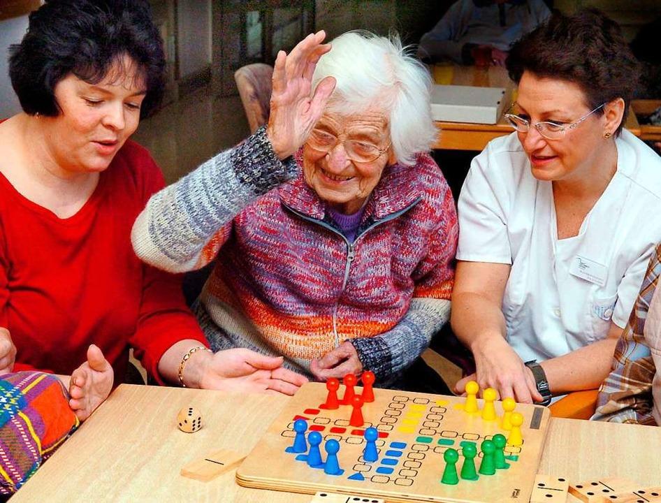 Brettspiele mit dem Personal sind für ...gänge gelten künftig strengere Regeln.  | Foto: Waltraud Grubitzsch