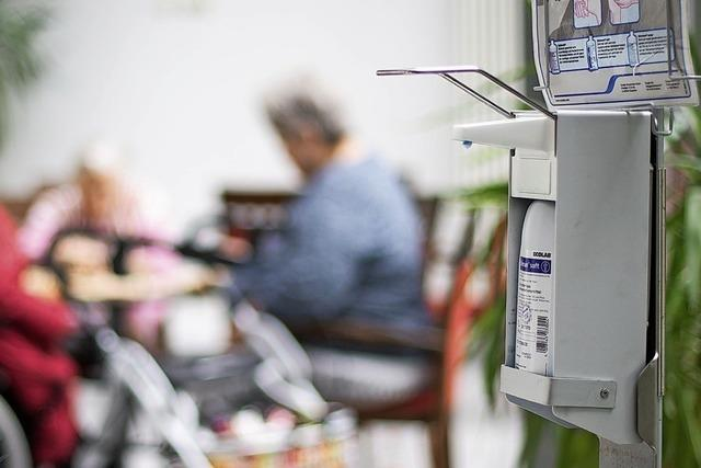 Infizierte in drei Pflegeheimen im Kreis Waldshut
