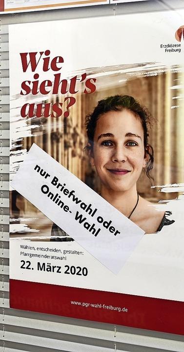 Auch im Hochschwarzwald wurde die für ...te Pfarrgemeinderatswahlen verschoben.  | Foto: Barbara Puppe