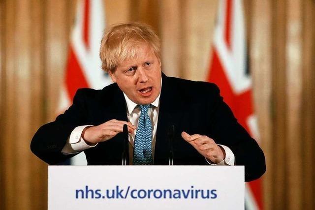 Bange Stunden für Boris Johnson