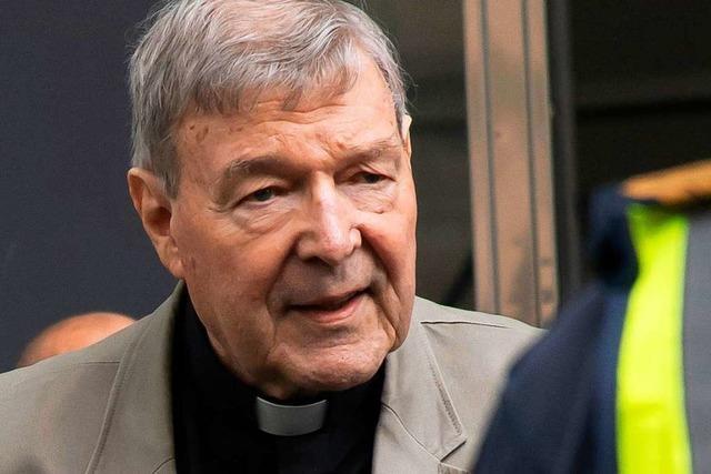 Australischer Kardinal Pell vom Vorwurf des sexuellen Missbrauchs freigesprochen