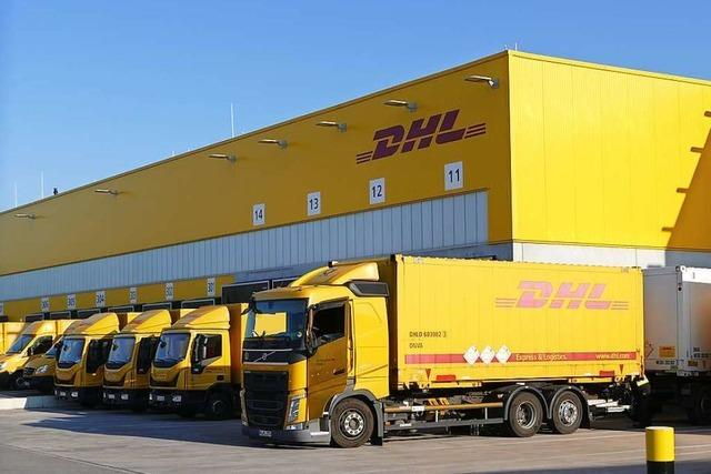 Das Paketaufkommen bei DHL in Efringen-Kirchen steigt täglich